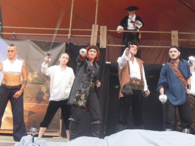 Piraten-Spektakel im Kurpark