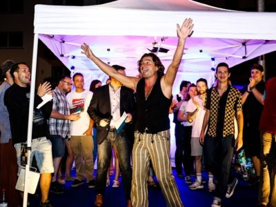 Straßenmusikfestival Jack Herra and the Jungletones