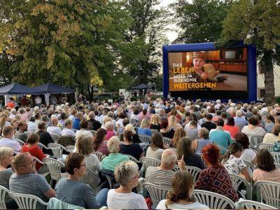 Kuki Open-Air-Kino an der Stadthalle Schlüchtern
